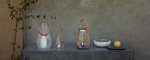 Holmegaard Lantern Clear:ホルムガード 吹きガラス ランタン design with light