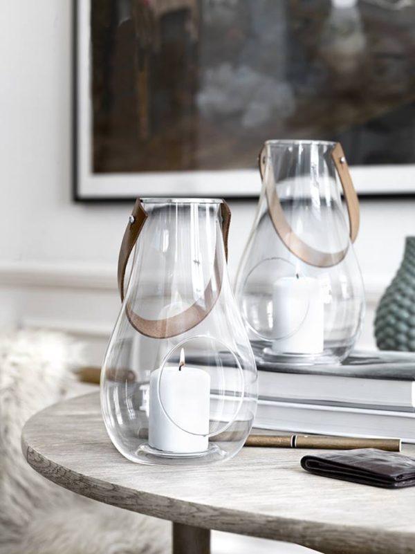Holmegaard(ホルムガード)の美しいガラスのランタン、Design with Light