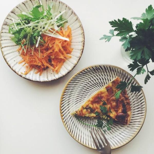 小鹿田焼(おんたやき)小皿・五寸皿
