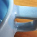 波佐見焼 HASAMI(ハサミ)ブロックマグ ブルー