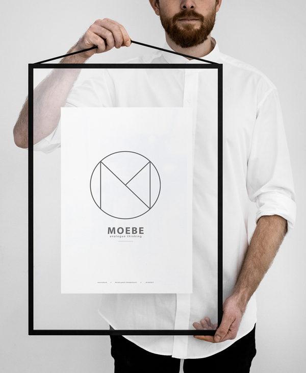 MOEBE FRAME black A2 ムーベ フレーム ブラック