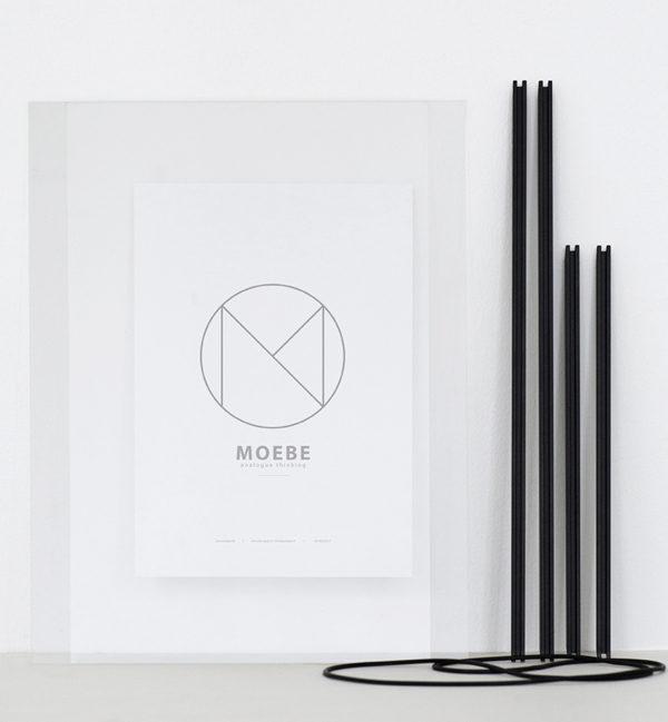 MOEBE FRAME Black A5 A4 A3 A2 ムーベ フレーム ブラック 4サイズ