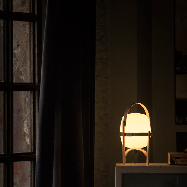 Santa&Cole Cesta サンタ&コール 木製フレーム 可動式スタンドランプ テーブルランプ フロアランプ セスタ