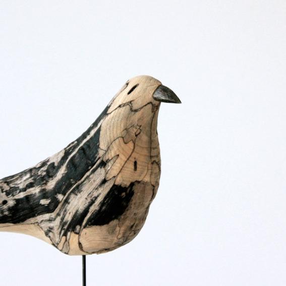 流木オブジェ 木鳥 ことり DRAMA STUDIO ドラマスタジオ