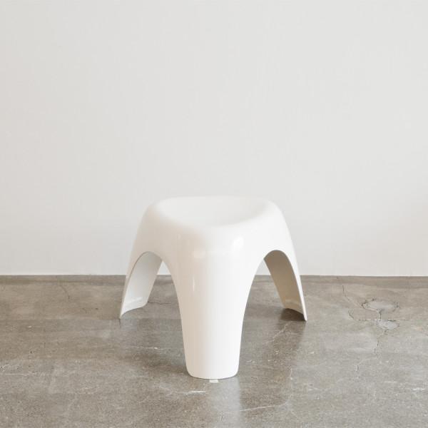 柳宗理デザイン Habitat ハビタ社 エレファントスツール ホワイト