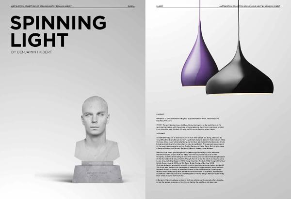 ペンダントランプ:SPINNING LIGHT