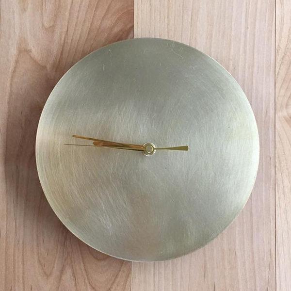 千 sen STILL Wall Clack セン ウォールクロック 真鍮 壁掛け時計