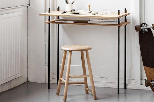 MOEBE Shelving System Desk set ムーベ シェルビングシステム デスク